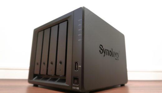 Synology製DS918+ メモリ増設とLAG(LACP)の設定